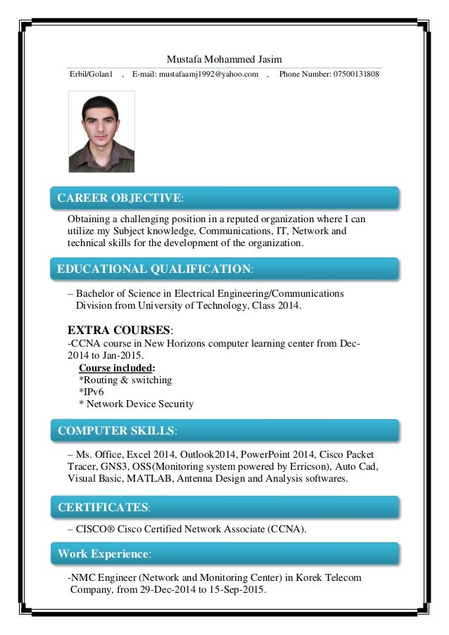 Mustafa-MJ Resume & Certificates