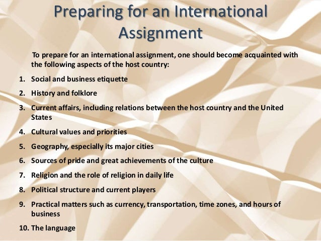 how to prepare a assignment
