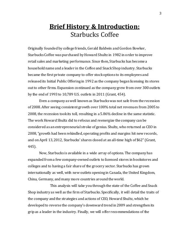 Case study writers starbucks in china