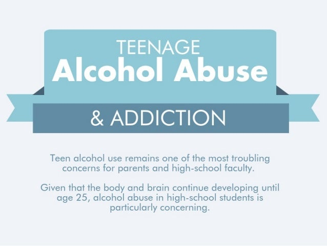 outline for teen alcohol abuse Page 1 alcohol and drug problem overview the abuse of alcohol and other drugs–including prescription drugs–is common and costly it can cause or worsen many.