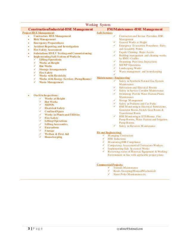 Updated CV HSE ADVISOR