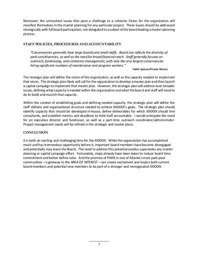 Organizational Assessment Sample – Organizational Assessment Template