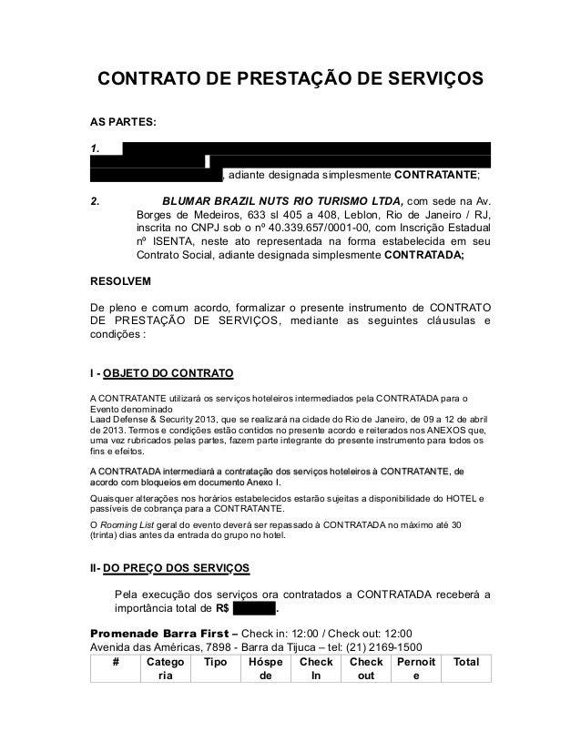 CONTRATO DE PRESTAÇÃO DE SERVIÇOS AS PARTES: 1. VT Systems Participações Ltda, Avenida das Nações Unidas, 14.171 – 15º and...