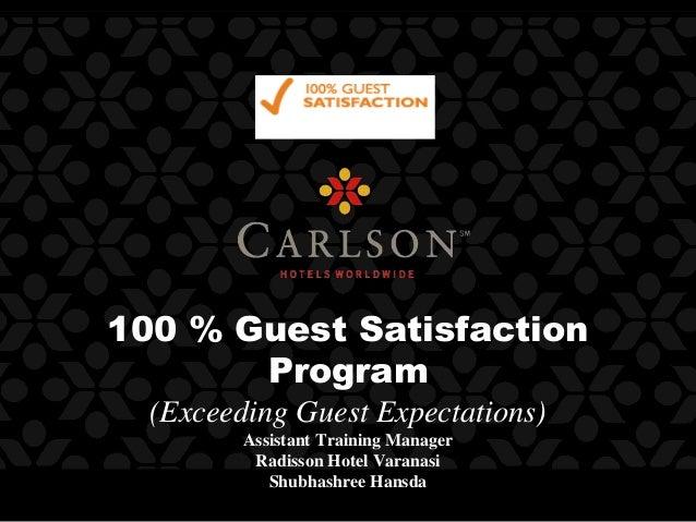 100 guest satisfaction program