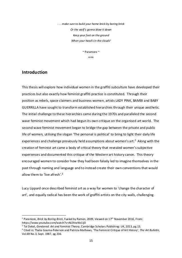 Art history dissertation abstract