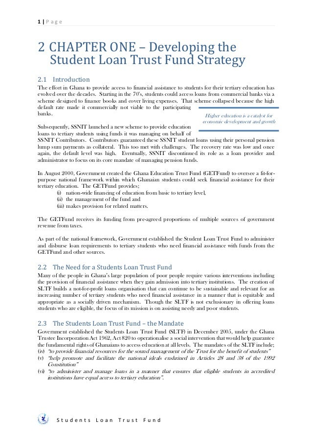 Sltf Final Consolidated Strategy 20160303
