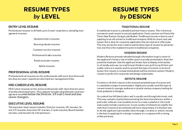 ... Senior Application Engineer; 3.  Mid Career Resume