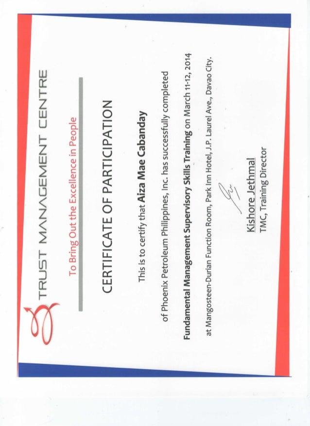 crtificate 1