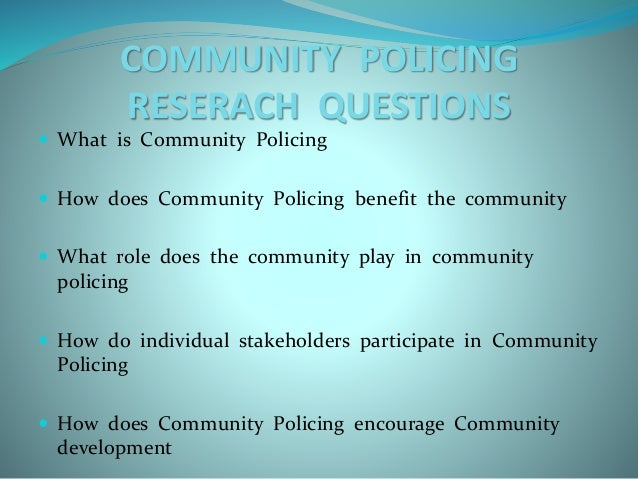 what is community policing The fayetteville police department strongly embraces the philosophy of  community policing in all its daily operations and functions community policing  is.