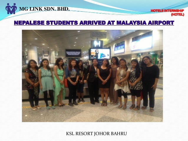 malaysia airlines internship programme