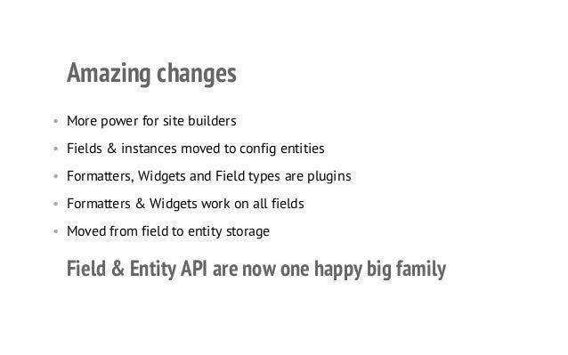 Drupal 8: Fields reborn