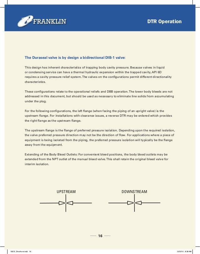 outlet configurations franklin valve duraseal 2016