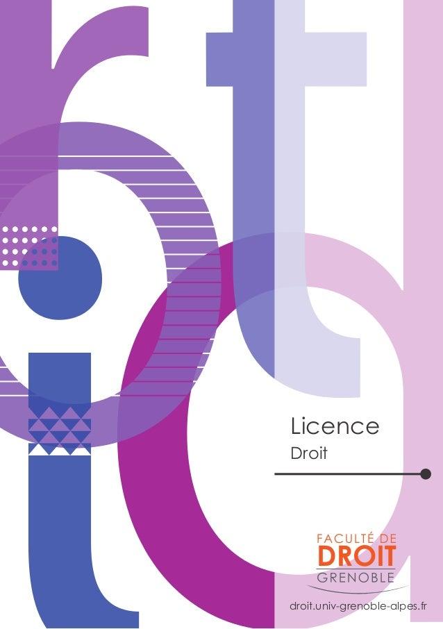 droit.univ-grenoble-alpes.fr Licence Droit