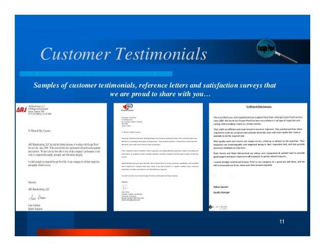 New Escape Proof Customer Presentation Announcing General