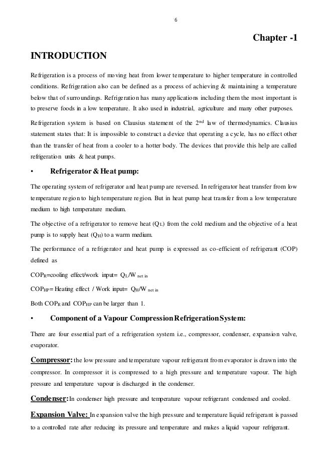 the effects of subcooling and superheating in refrigeration system essay Subcooling and superheat: superheroes of system charging subcooling and superheat: superheroes of but very common on small refrigeration systems such as walk.