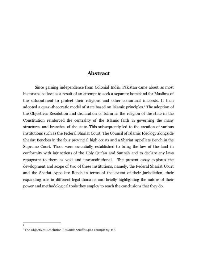 islamization of laws in pakistan pdf