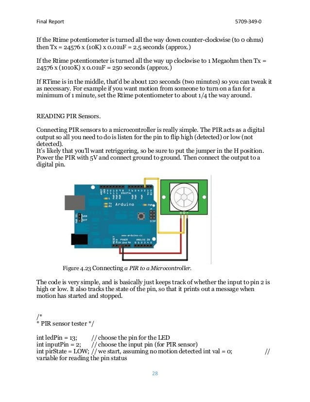 Final Report 5709-349-0 28 If the Rtime potentiometer is turned all the way down counter-clockwise (to 0 ohms) then Tx = 2...