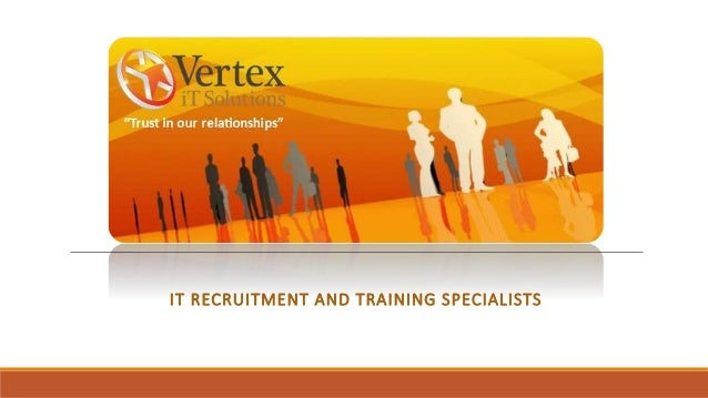 IT RECRUITMENT AND TRAINING SPECIALISTS