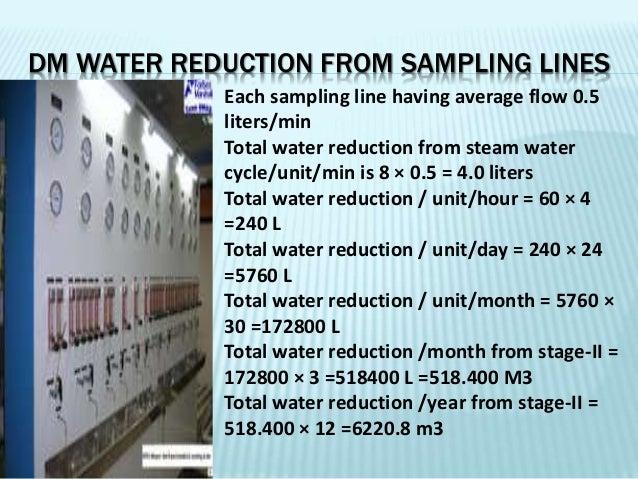 DM water conservation Slide 3