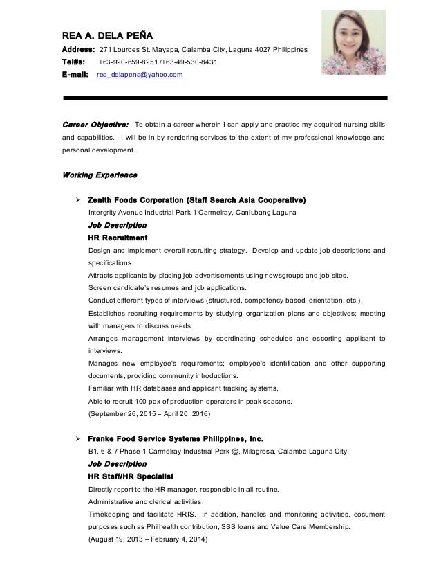 updated resume format philippines some ideas on essays and essay