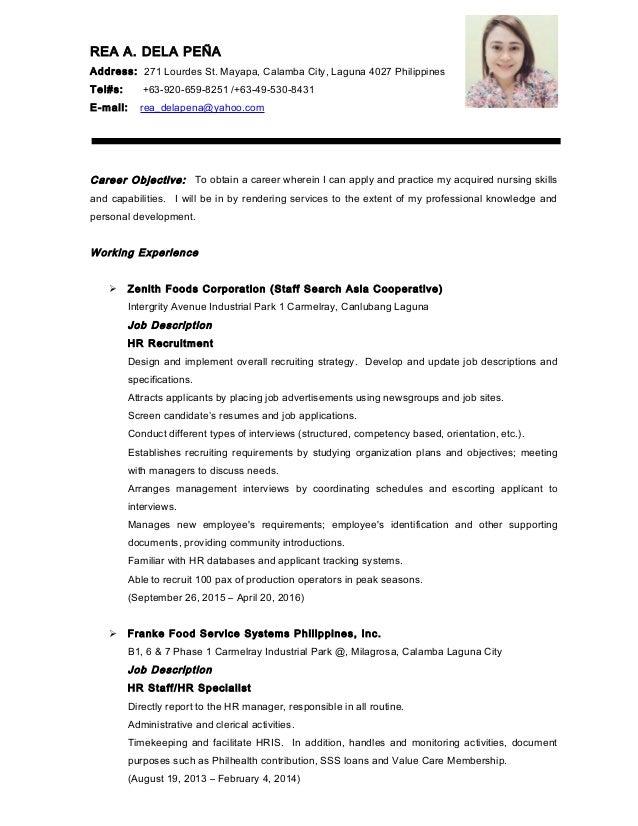 Latest resume resume format sample philippines student biodata sample example altavistaventures Image collections
