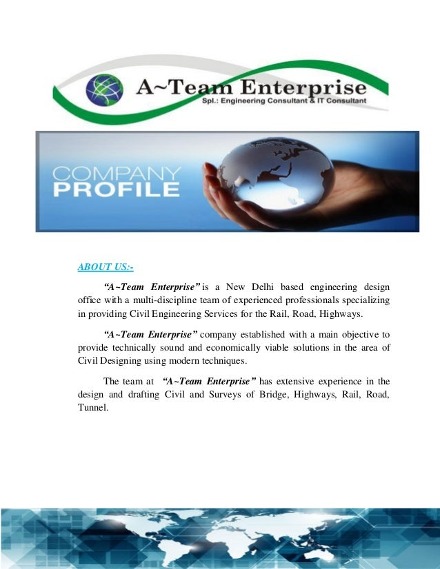 civil construction company profile pdf