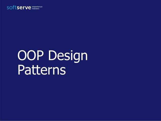 OOP Design Patterns