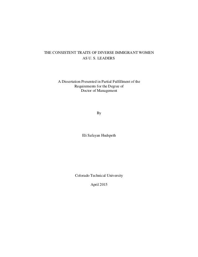 Dissertation published