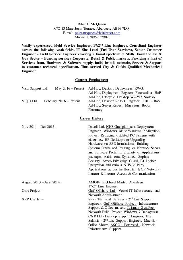 Colorful Mechanical Engineering Resume Aberdeen Collection - Resume ...