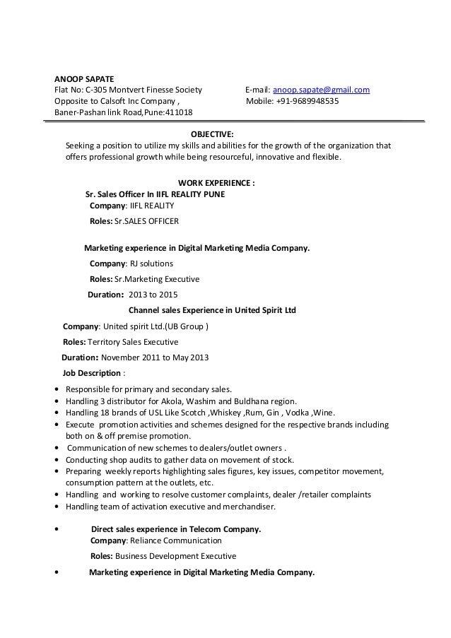 Anoop Resume Rj 1