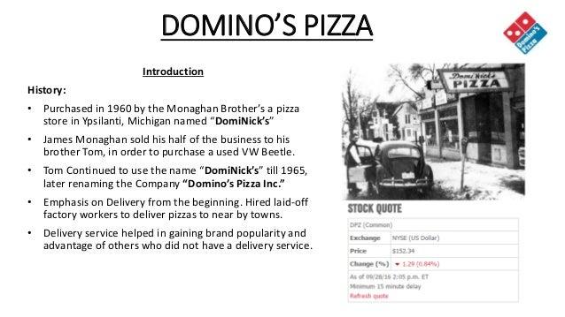 Domino's Pizza - PPT