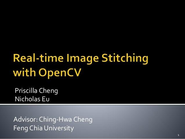 stitching presentation