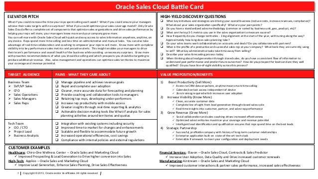 sales cloud battle card. Black Bedroom Furniture Sets. Home Design Ideas