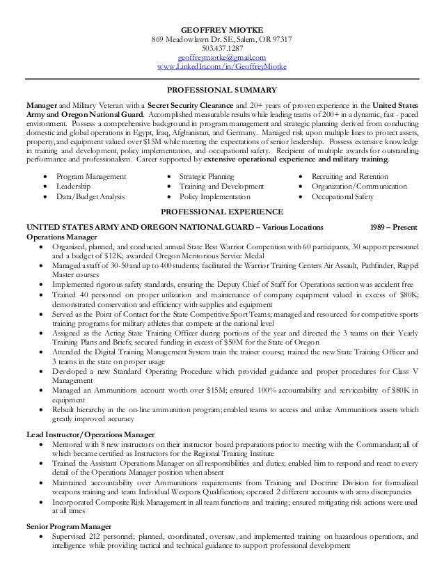 hire heroes resume