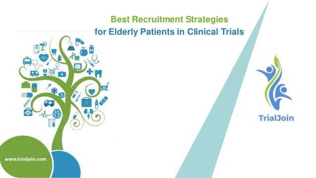 Best recruitment strategies for elderly patients in clinical trials