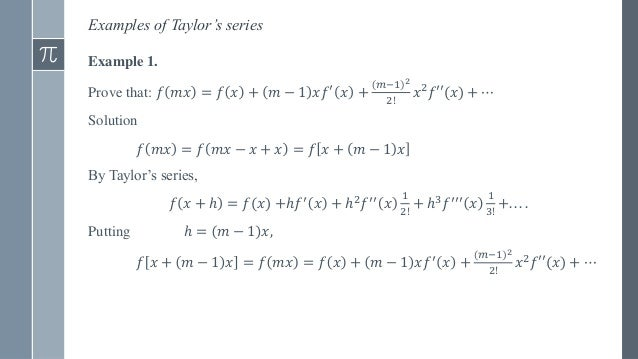 Power Series,Taylor's and Maclaurin's Series