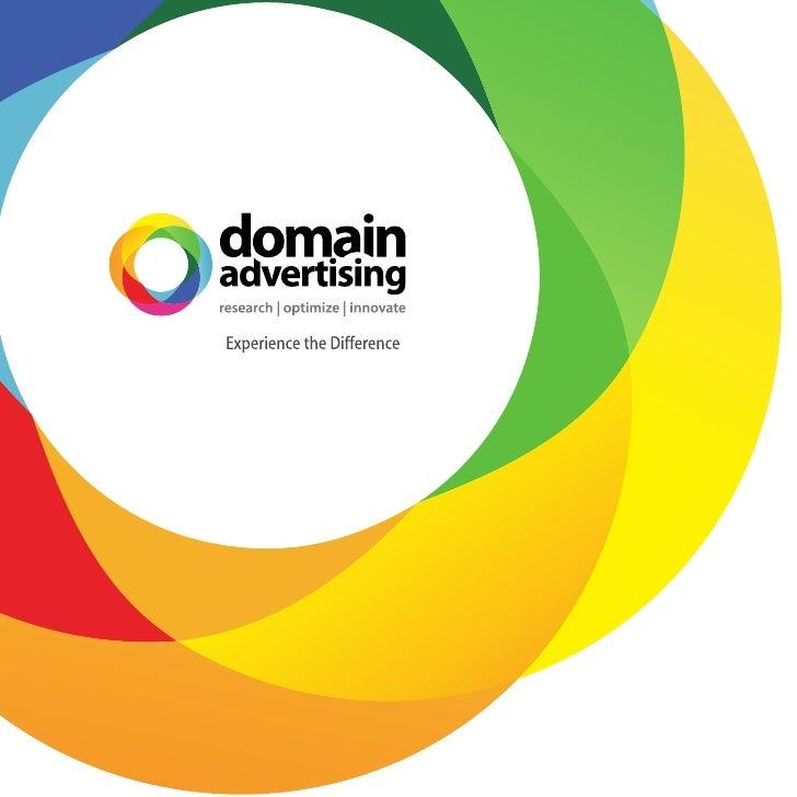 DomainAdvertising Brochure June 2010