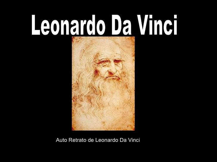 Leonardo Da Vinci Auto Retrato de Leonardo Da Vinci