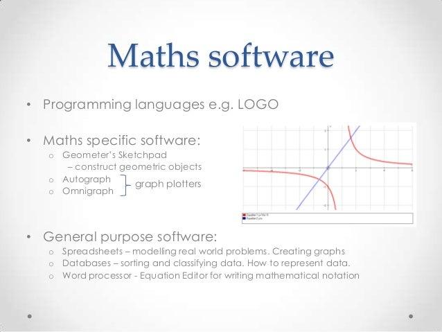 ICT across the curriculum - Mathematics Slide 3