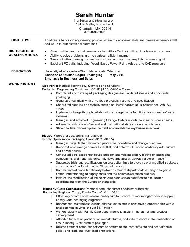 Hunter College Resume Builder