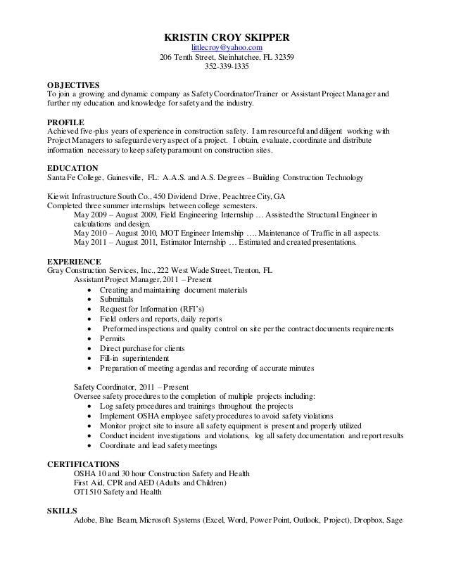 Kristin Skipper Resume