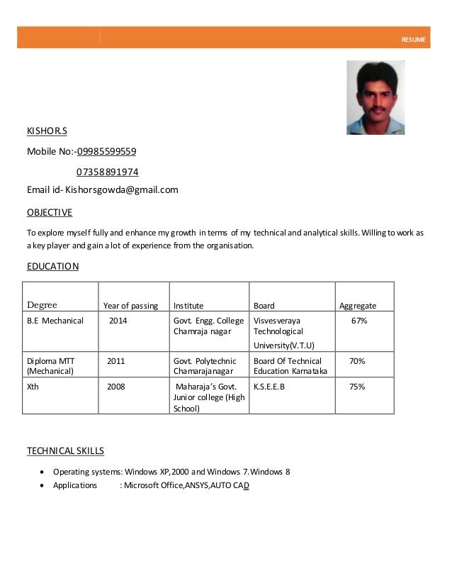 normal resume - Roho.4senses.co