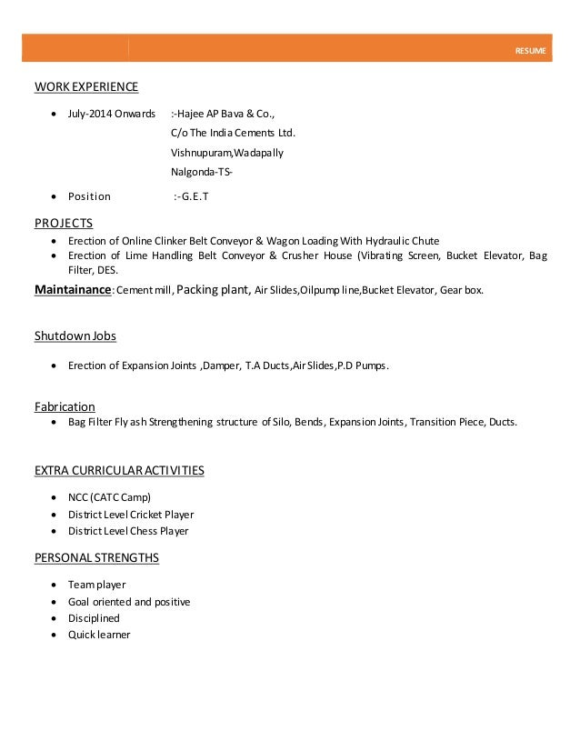 Normal Resumes Grude Interpretomics Co