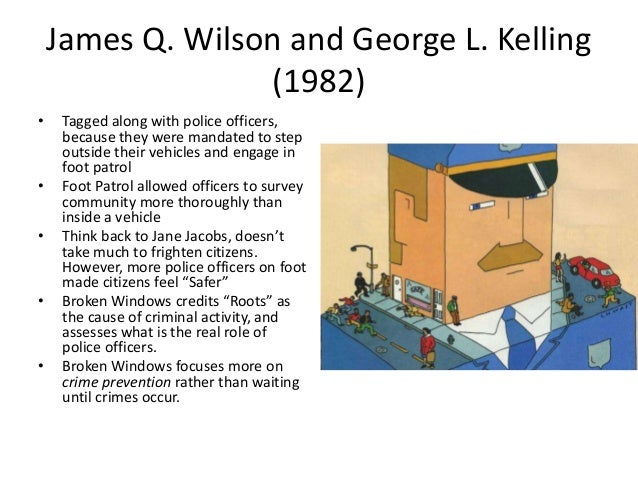 an introduction to wilson and kellings article broken windows This is wilsons and kellings broken windows phenomenon and it is more likely from edcp 470 at maryland.