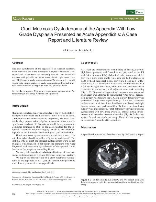 Articles © The authors | Journal compilation © J Curr Surg and Elmer Press Inc™ | www.jcs.elmerpress.com This is an open-a...