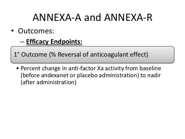 Final ANNEXA-4 Results Published, Confirm Rapid Andexanet ...