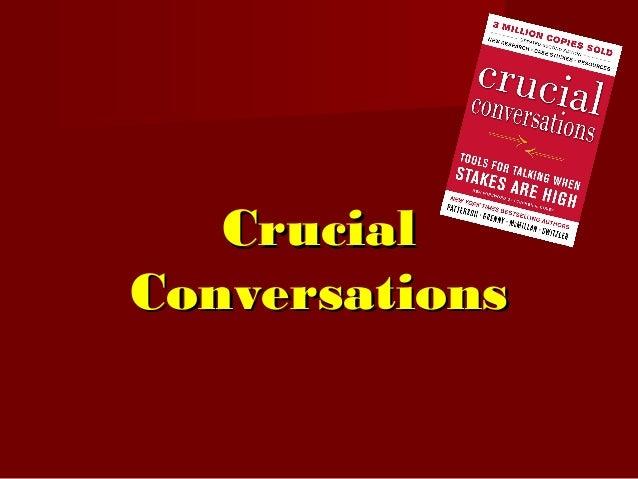 CrucialCrucial ConversationsConversations