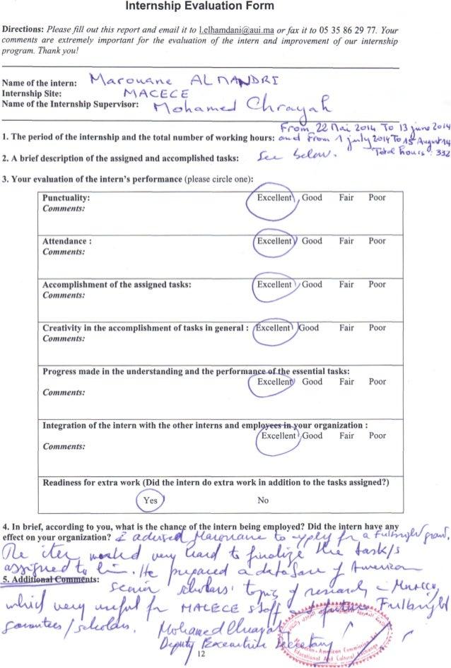 evaluation form comments  Evaluation form MACECE.PDF