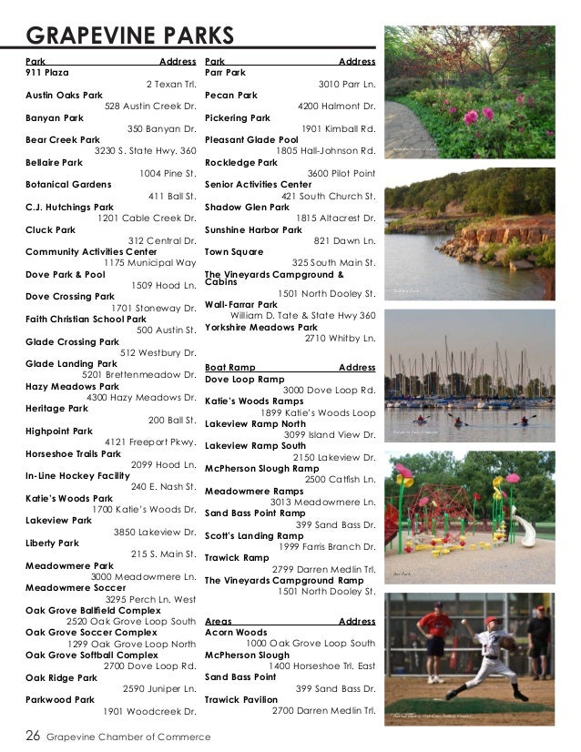 2015 Digital Grapevine Chamber Directory
