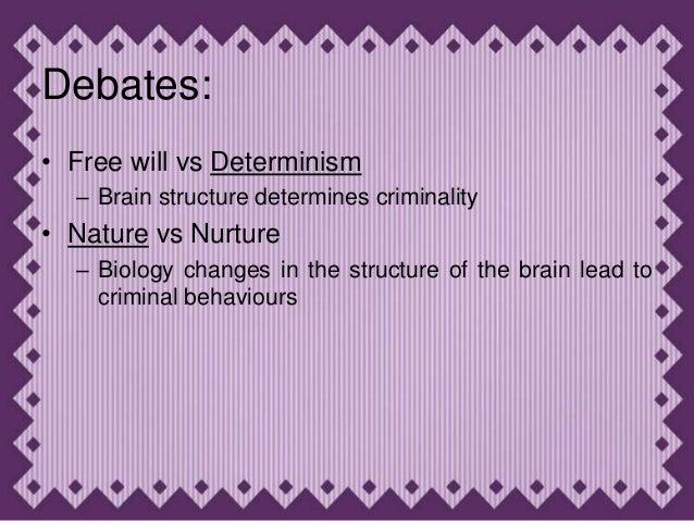 Criminals Nature Vs Nurture